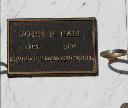 HALL, JOHN BOOTH - Polk County, Oregon | JOHN BOOTH HALL - Oregon Gravestone Photos