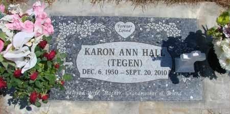 HALL, KARON ANN - Polk County, Oregon   KARON ANN HALL - Oregon Gravestone Photos