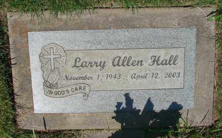 HALL, LARRY ALLEN - Polk County, Oregon | LARRY ALLEN HALL - Oregon Gravestone Photos