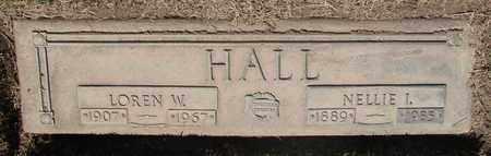 HALL, NELLIE IRENE - Polk County, Oregon   NELLIE IRENE HALL - Oregon Gravestone Photos
