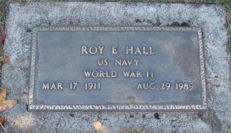HALL, ROY E - Polk County, Oregon | ROY E HALL - Oregon Gravestone Photos