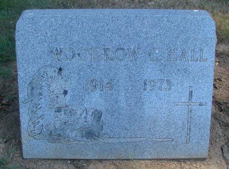 HALL, WOODROW C - Polk County, Oregon | WOODROW C HALL - Oregon Gravestone Photos