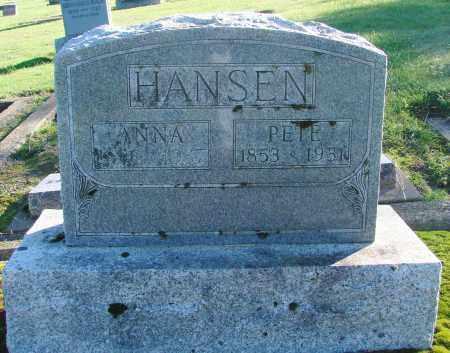 HANSEN, ANNA - Polk County, Oregon | ANNA HANSEN - Oregon Gravestone Photos
