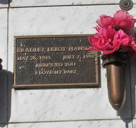 HANSON, BRADLEY LEROY - Polk County, Oregon | BRADLEY LEROY HANSON - Oregon Gravestone Photos