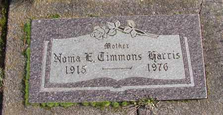TIMMONS, NORMA E - Polk County, Oregon   NORMA E TIMMONS - Oregon Gravestone Photos