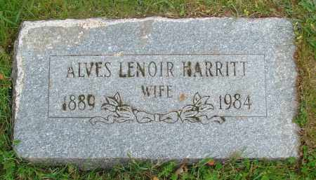 HARRITT, ALVES - Polk County, Oregon | ALVES HARRITT - Oregon Gravestone Photos
