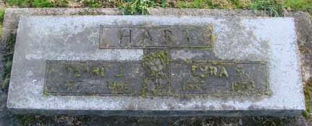 HART, EZRA - Polk County, Oregon | EZRA HART - Oregon Gravestone Photos