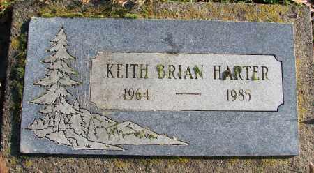 HARTER, KEITH BRIAN - Polk County, Oregon | KEITH BRIAN HARTER - Oregon Gravestone Photos