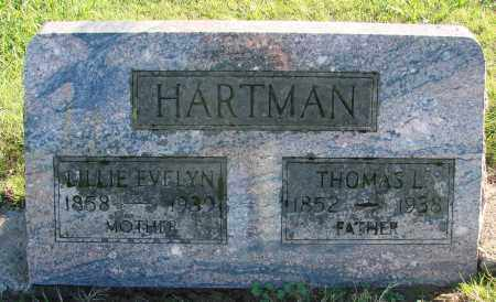 HARTMAN, LILLIE EVELYN - Polk County, Oregon   LILLIE EVELYN HARTMAN - Oregon Gravestone Photos