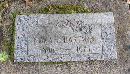HARTMAN, NORA L - Polk County, Oregon | NORA L HARTMAN - Oregon Gravestone Photos