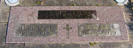 HARTMAN, THOMAS L - Polk County, Oregon | THOMAS L HARTMAN - Oregon Gravestone Photos