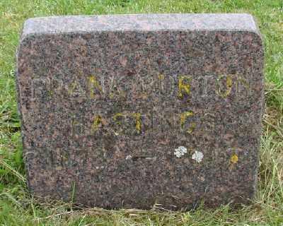 HASTINGS, FRANK BURTON - Polk County, Oregon   FRANK BURTON HASTINGS - Oregon Gravestone Photos