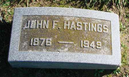 HASTINGS, JOHN FRANKLIN - Polk County, Oregon | JOHN FRANKLIN HASTINGS - Oregon Gravestone Photos