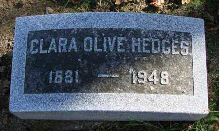 HEDGES, CLARA OLIVE - Polk County, Oregon   CLARA OLIVE HEDGES - Oregon Gravestone Photos