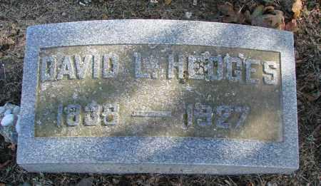 HEDGES, DAVID L - Polk County, Oregon   DAVID L HEDGES - Oregon Gravestone Photos