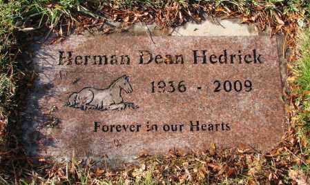 HEDRICK, HERMAN DEAN - Polk County, Oregon   HERMAN DEAN HEDRICK - Oregon Gravestone Photos