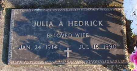 HERRING HEDRICK, JULIA AUSTIN - Polk County, Oregon | JULIA AUSTIN HERRING HEDRICK - Oregon Gravestone Photos
