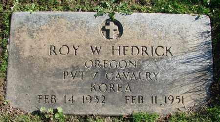 HEDRICK (KOR), ROY WAYNE - Polk County, Oregon | ROY WAYNE HEDRICK (KOR) - Oregon Gravestone Photos