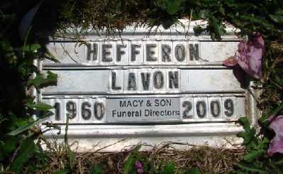 HEFFERON, LAVON - Polk County, Oregon   LAVON HEFFERON - Oregon Gravestone Photos