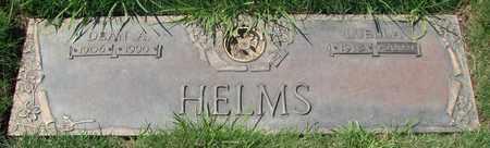 HELMS, DEAN AMOS - Polk County, Oregon | DEAN AMOS HELMS - Oregon Gravestone Photos
