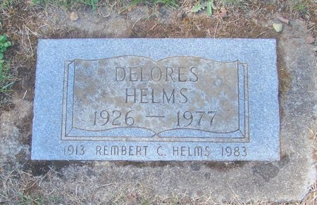 HELMS, DELORES - Polk County, Oregon | DELORES HELMS - Oregon Gravestone Photos