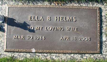HELMS, ELLA B - Polk County, Oregon | ELLA B HELMS - Oregon Gravestone Photos