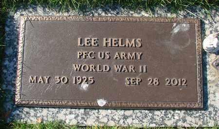 HELMS, LEE, JR - Polk County, Oregon | LEE, JR HELMS - Oregon Gravestone Photos
