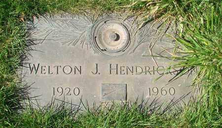 HENDRICKSON, WELTON J - Polk County, Oregon   WELTON J HENDRICKSON - Oregon Gravestone Photos