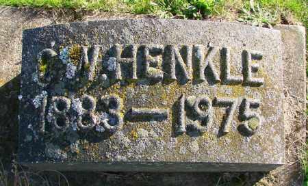 HENKLE, C W - Polk County, Oregon   C W HENKLE - Oregon Gravestone Photos