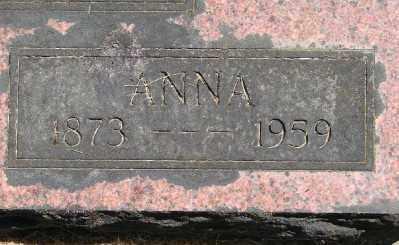 HERREN, ANNA - Polk County, Oregon | ANNA HERREN - Oregon Gravestone Photos