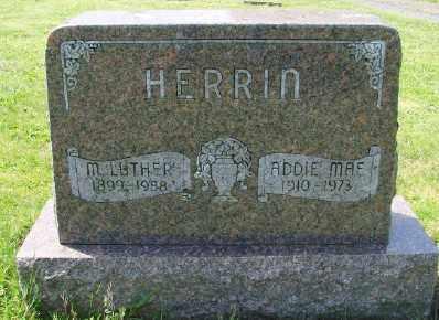 HERRIN, MARTIN LUTHER - Polk County, Oregon | MARTIN LUTHER HERRIN - Oregon Gravestone Photos