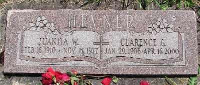 HEVNER, CLARENCE G - Polk County, Oregon | CLARENCE G HEVNER - Oregon Gravestone Photos