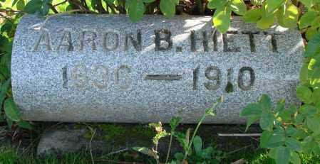 HIETT, AARON B - Polk County, Oregon   AARON B HIETT - Oregon Gravestone Photos