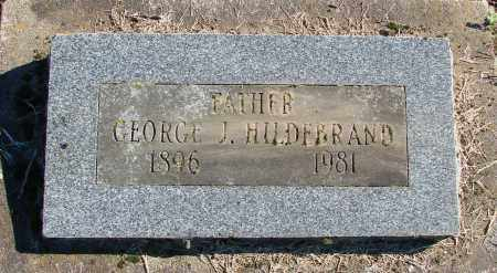HILDEBRAND, GEORGE J - Polk County, Oregon | GEORGE J HILDEBRAND - Oregon Gravestone Photos