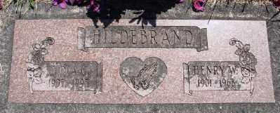 HILDEBRAND, HENRY W - Polk County, Oregon | HENRY W HILDEBRAND - Oregon Gravestone Photos