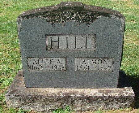 HILL, ALICE A - Polk County, Oregon | ALICE A HILL - Oregon Gravestone Photos
