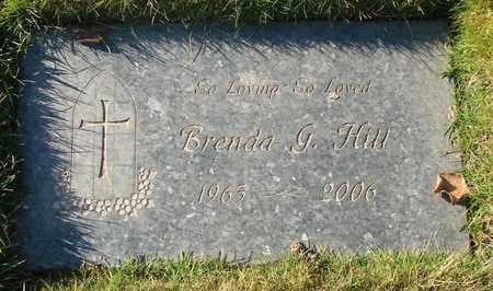 HILL, BRENDA G - Polk County, Oregon | BRENDA G HILL - Oregon Gravestone Photos