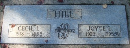 HILL, JOYCE L - Polk County, Oregon | JOYCE L HILL - Oregon Gravestone Photos