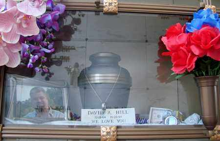 HILL, DAVID ARTHUR - Polk County, Oregon | DAVID ARTHUR HILL - Oregon Gravestone Photos