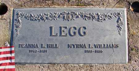 HILL, DEANNA LOU - Polk County, Oregon | DEANNA LOU HILL - Oregon Gravestone Photos