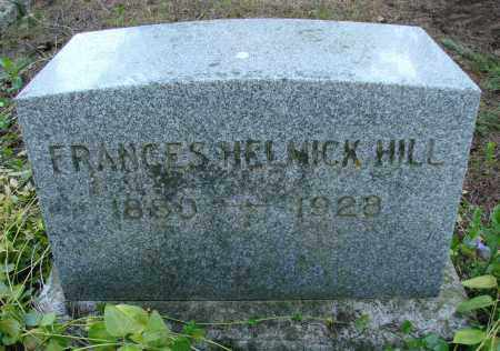 HILL, FRANCES - Polk County, Oregon   FRANCES HILL - Oregon Gravestone Photos