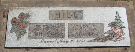 HILL, GARY G - Polk County, Oregon | GARY G HILL - Oregon Gravestone Photos