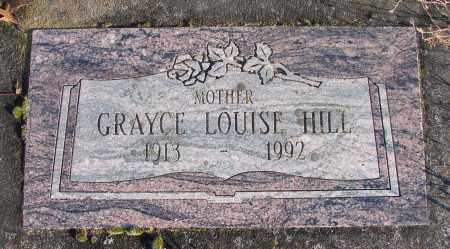 HILL, GRAYCE LOUISE - Polk County, Oregon | GRAYCE LOUISE HILL - Oregon Gravestone Photos
