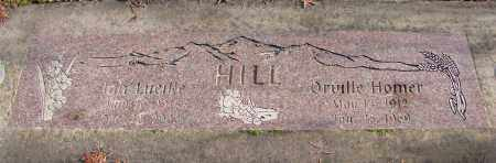 HILL, IDA LUCILLE - Polk County, Oregon | IDA LUCILLE HILL - Oregon Gravestone Photos