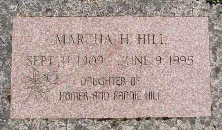 HILL, MARTHA H - Polk County, Oregon   MARTHA H HILL - Oregon Gravestone Photos