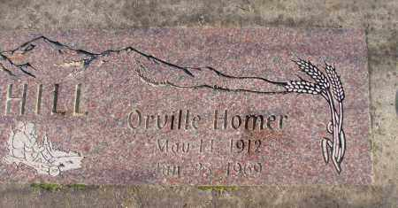 HILL, ORVILLE HOMER - Polk County, Oregon | ORVILLE HOMER HILL - Oregon Gravestone Photos