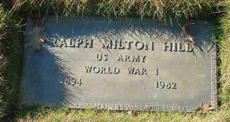 HILL, RALPH MILTON - Polk County, Oregon | RALPH MILTON HILL - Oregon Gravestone Photos