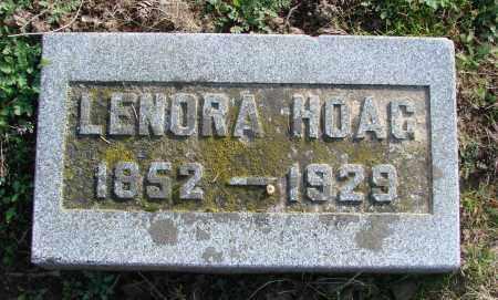 TERHUNE HOAG, LENORA - Polk County, Oregon   LENORA TERHUNE HOAG - Oregon Gravestone Photos