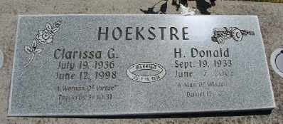 HOEKSTRE, CLARISSA G - Polk County, Oregon | CLARISSA G HOEKSTRE - Oregon Gravestone Photos