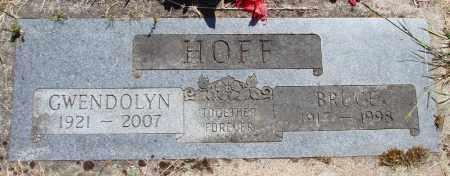 HOFF, GWENDOLYN CLARE - Polk County, Oregon   GWENDOLYN CLARE HOFF - Oregon Gravestone Photos